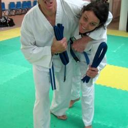 Blue belts grading
