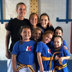 International Women's Day Taekwondo Girls!
