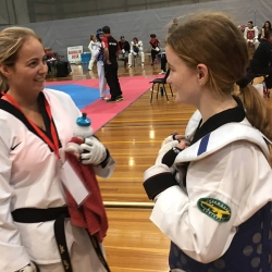 Taekwondo comp