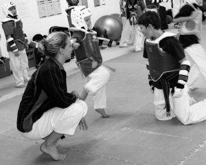 Kids Taekwondo Training