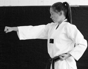 Teenager Taekwondo Training