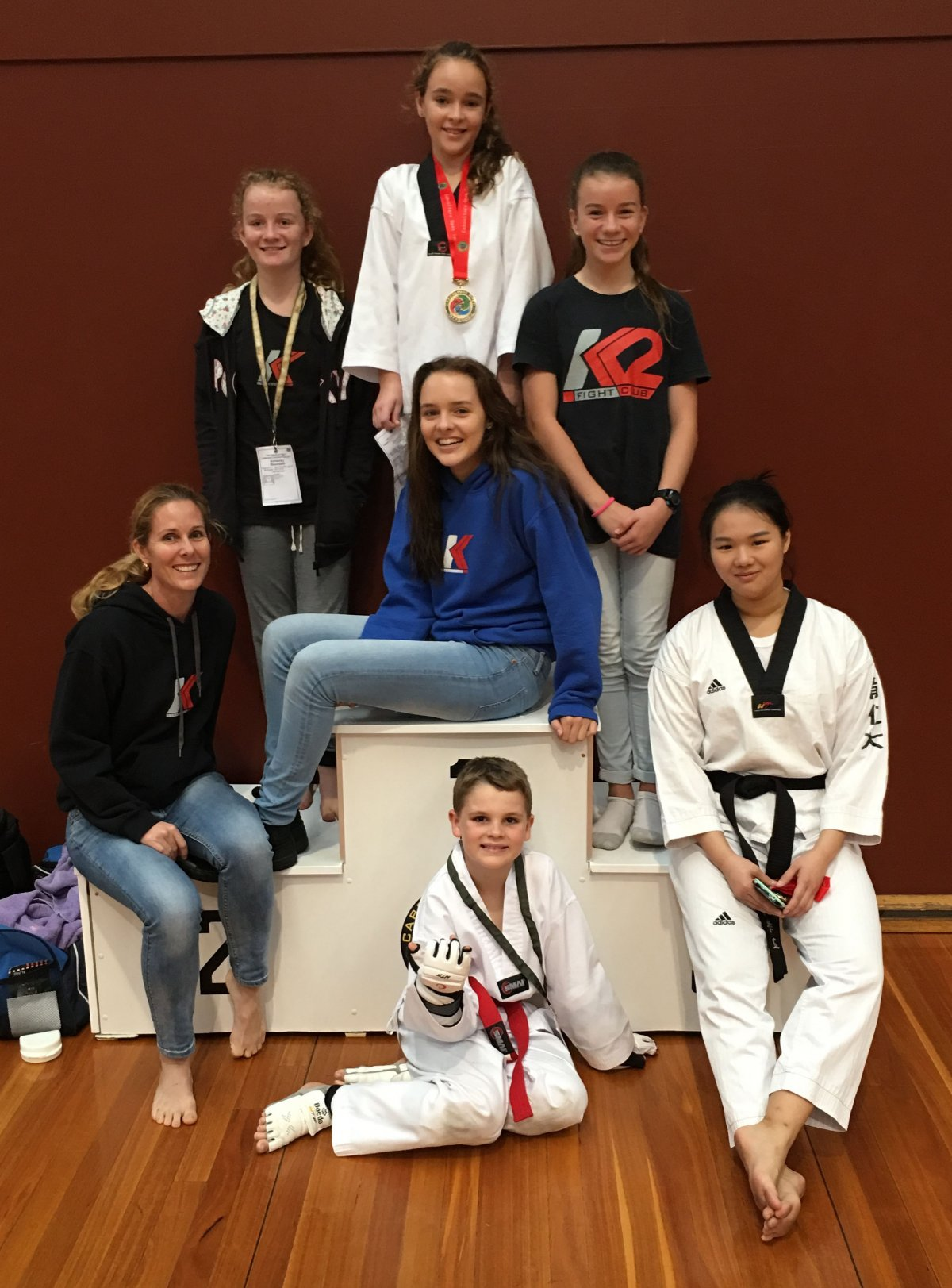 Medals at the 11th Caboolture Open