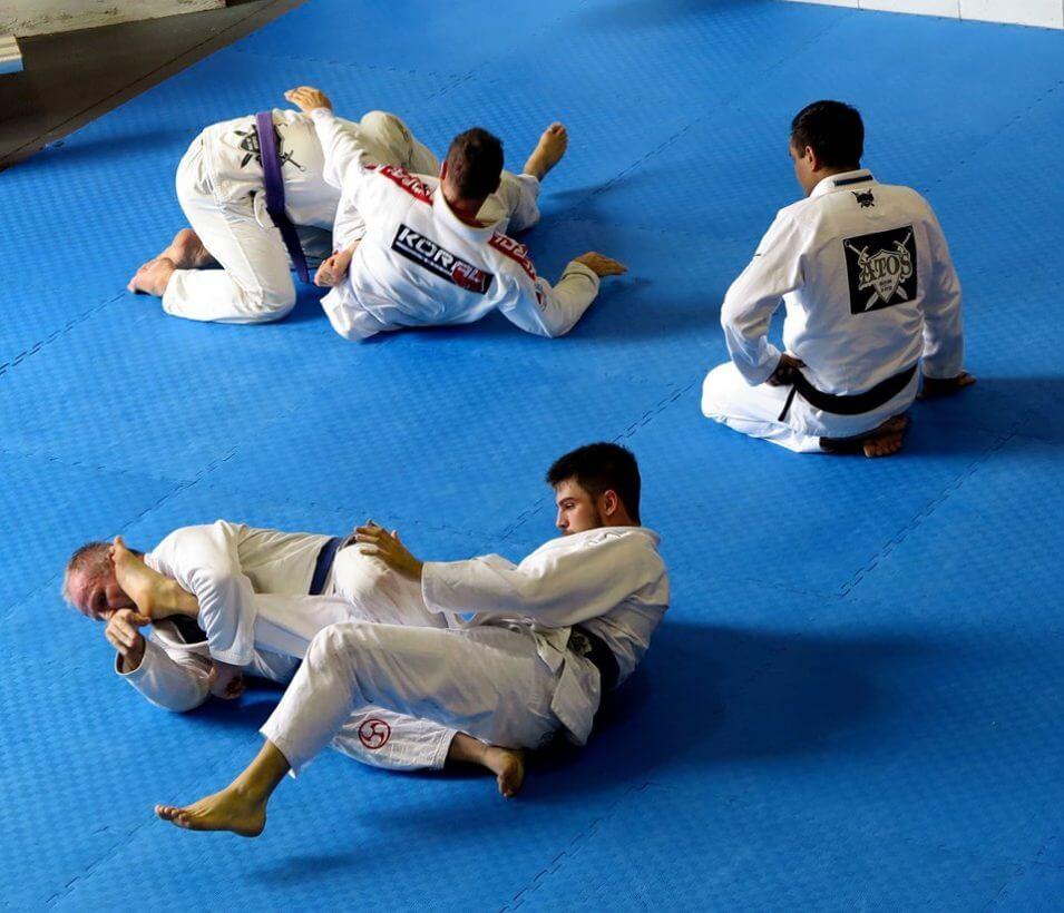 Our Brazilian Jiu-Jitsu class