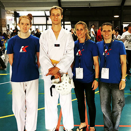 Three gold and one silver at the Brisbane Open!