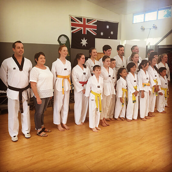 Kicks Kilcoy Gradings