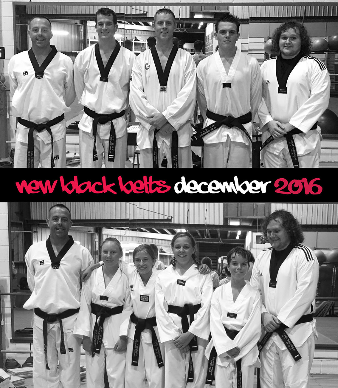 December Black Belt Gradings