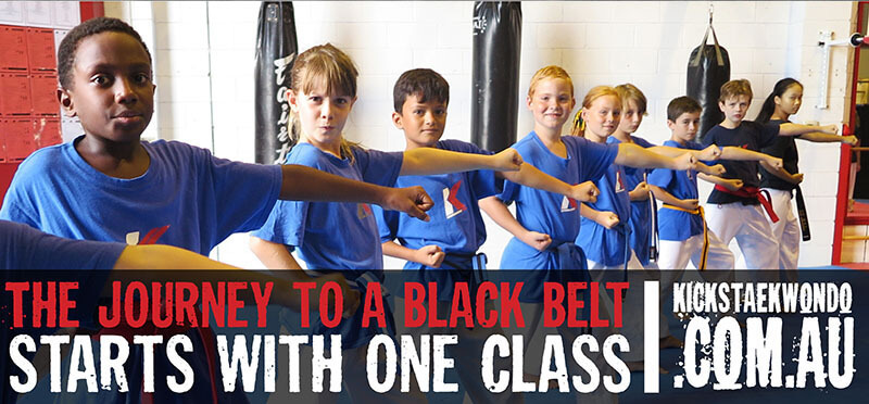 The journey to a black belt!