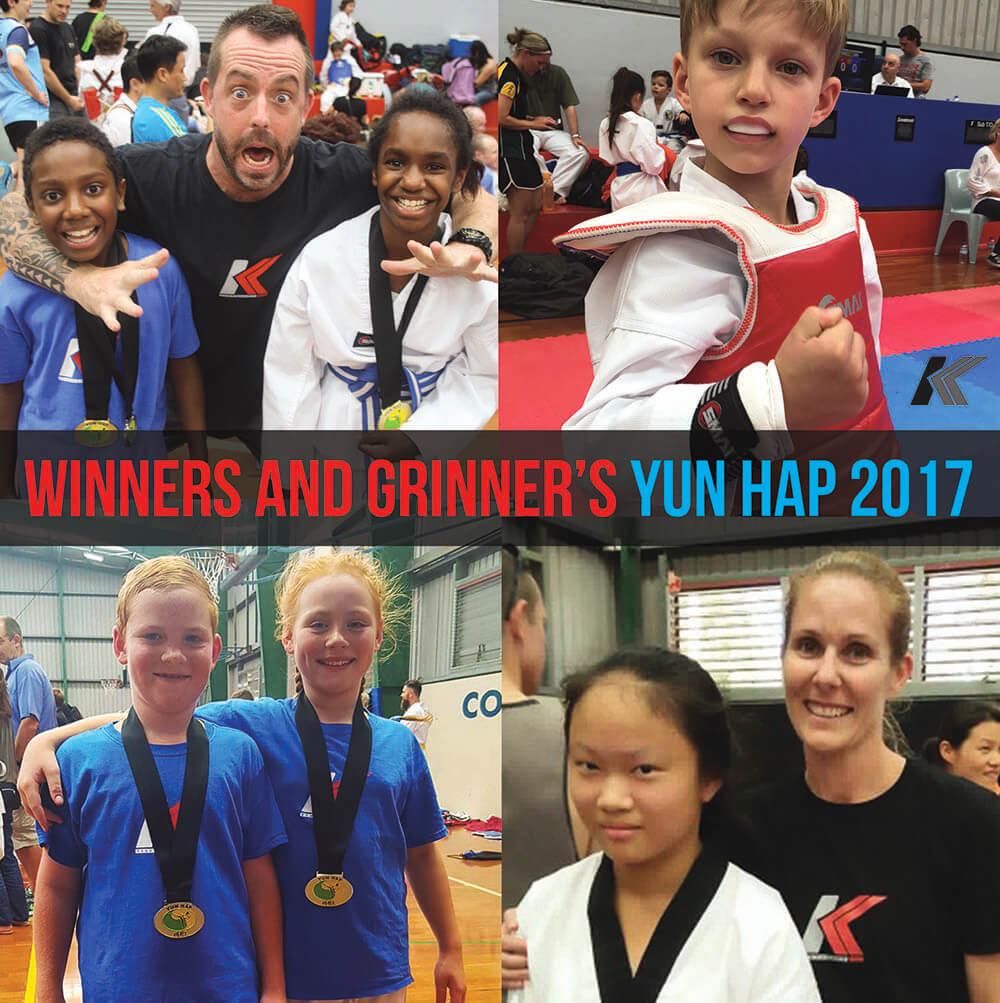 Winners & Grinner's Yun Hap 2017