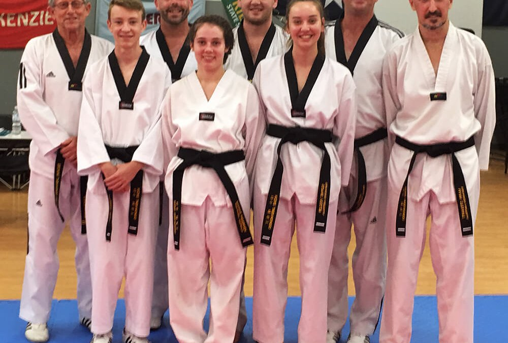 New black belts at our Kilcoy club