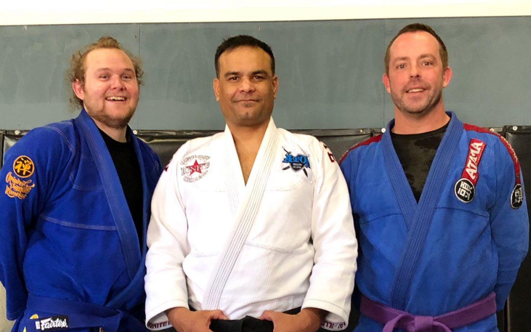Casey finally getting his blue belt in brazilian jiu-jitsu