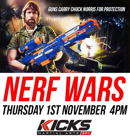 Nerf wars are a coming!!