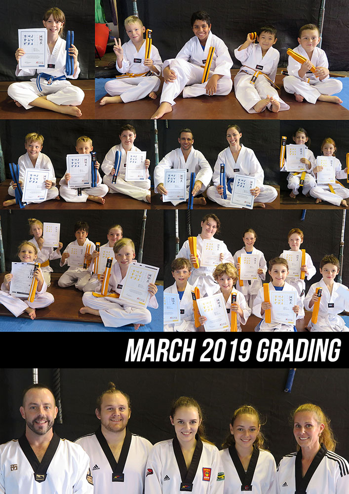 March Grading for 2019