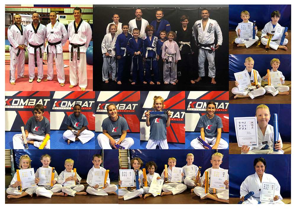 May Gradings in Taekwondo, Bjj & KSA