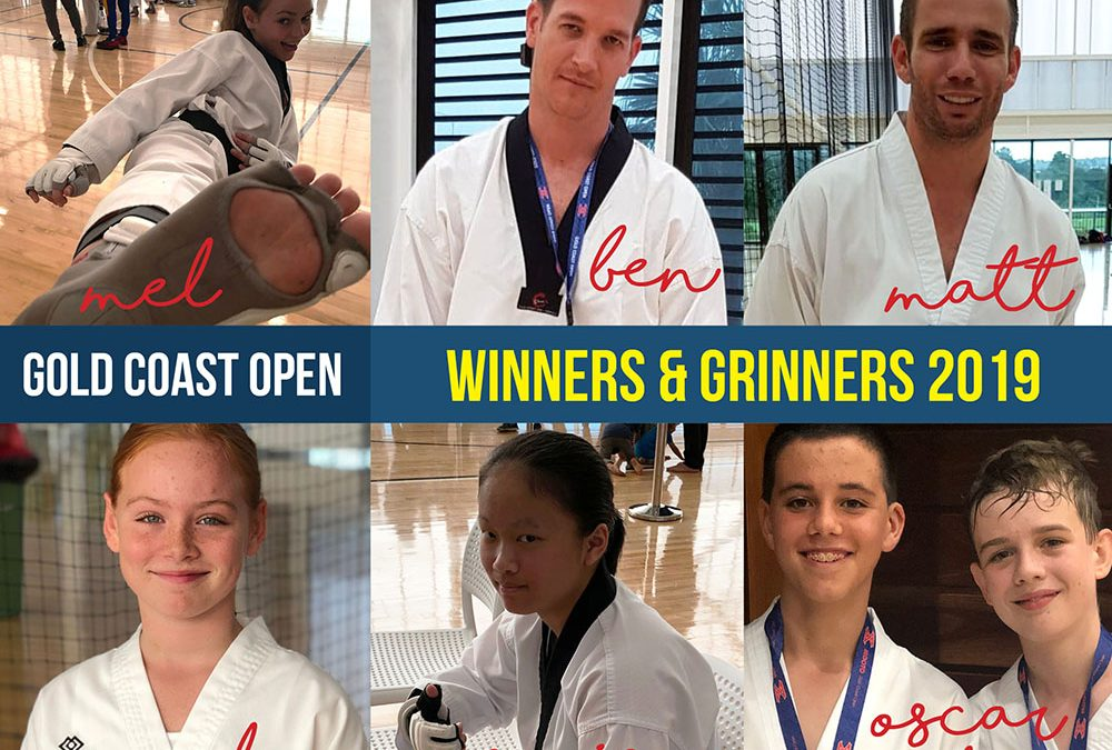 Winners and Grinners at the 2019 Gold Coast Open!