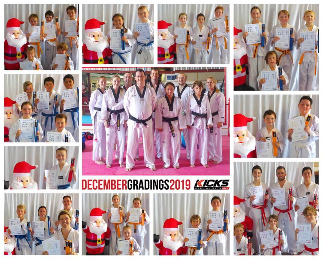 Last Gradings of the year 2019