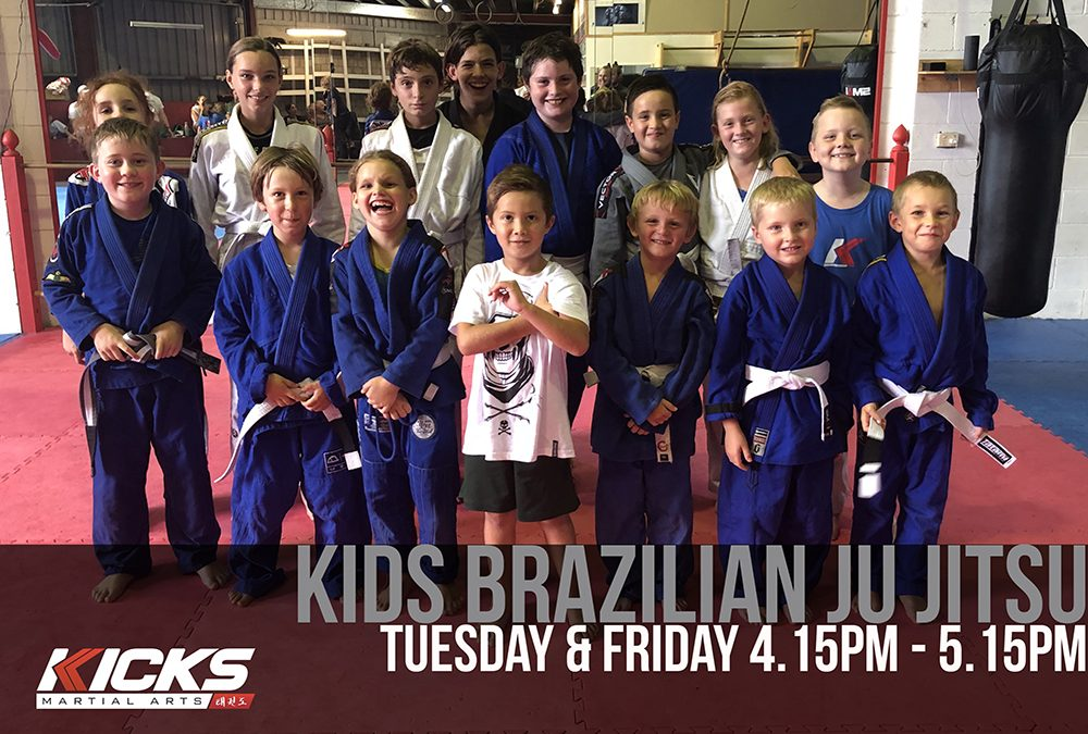 Our Brazilian Jiu-Jitsu class is getting bigger and better!