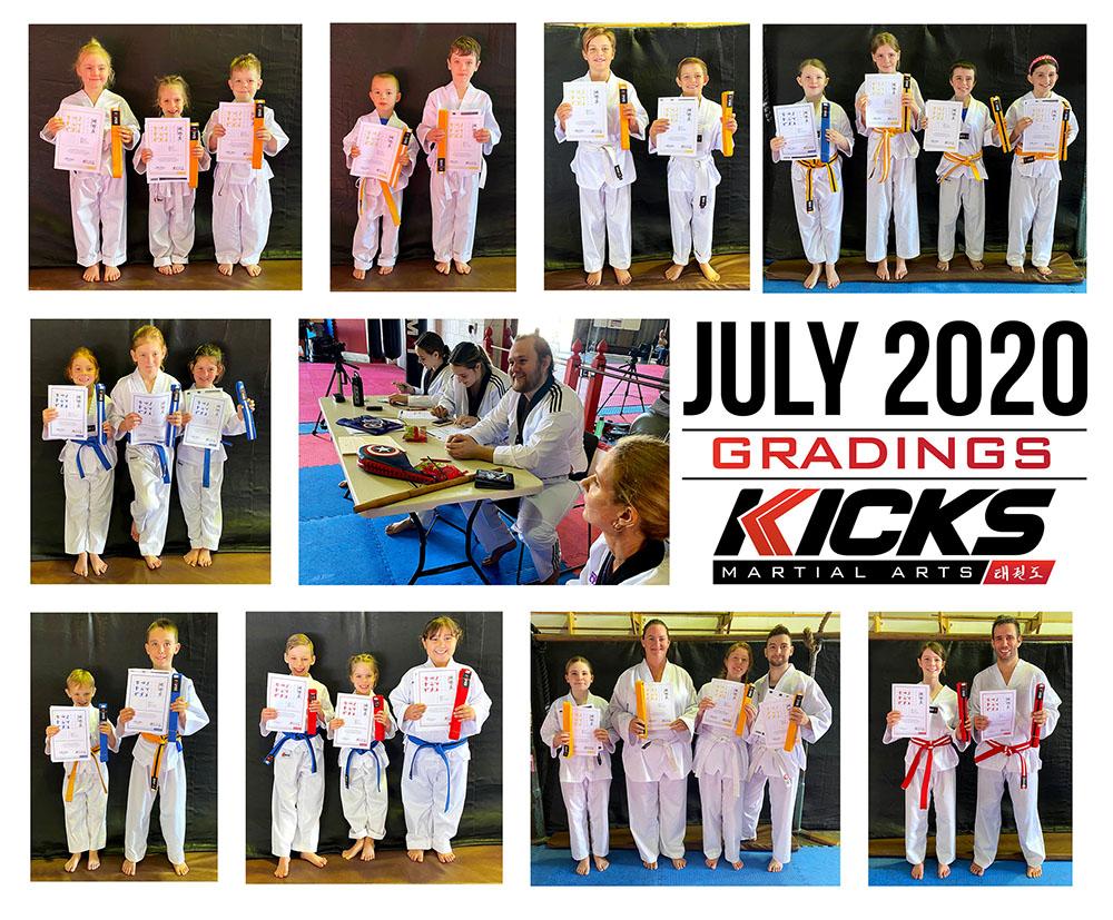 July Gradings!
