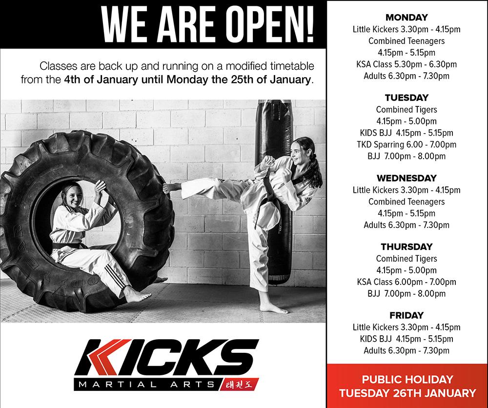 Kick start the  new year!